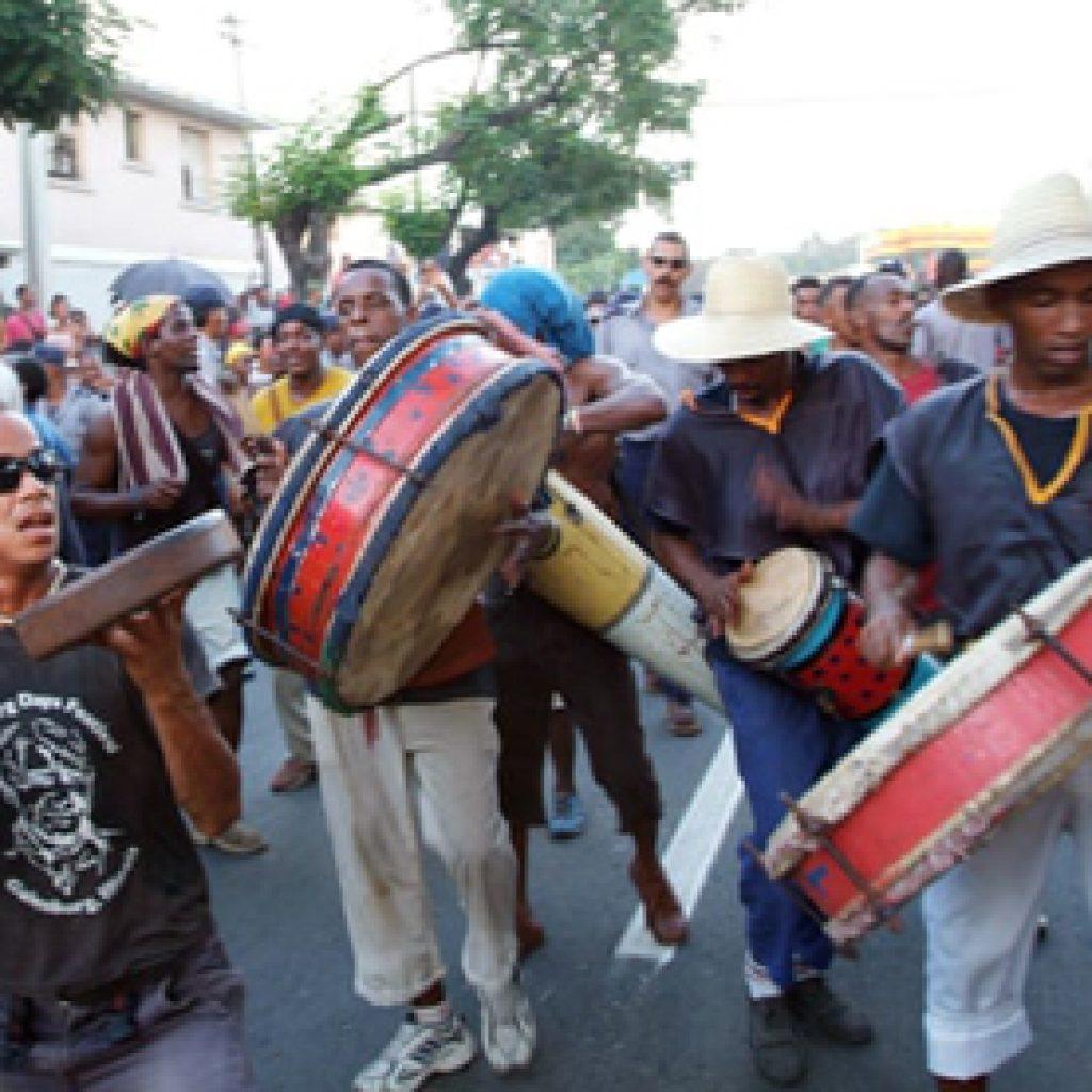 Street Drummers Santiago